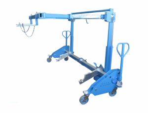NT Machine Loom Frame Loading Device